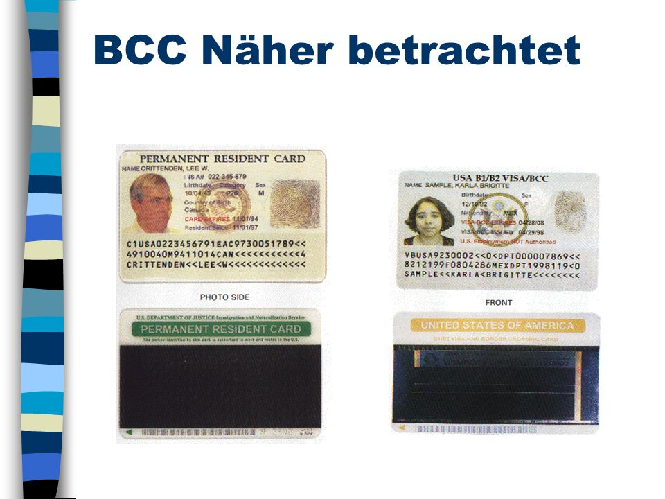 BCC Näher betrachtet