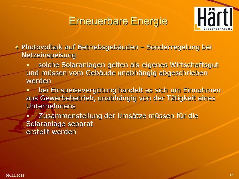 Photovoltaik auf Betriebsgebäuden – Sonderregelung bei Netzeinspeisung solche Solaranlagen gelten als eigenes Wirtschaftsgut und müssen vom Gebäude un