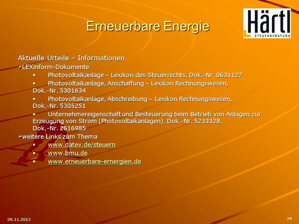 Aktuelle Urteile – Informationen LEXinform-Dokumente Photovoltaikanlage – Lexikon des Steuerrechts, Dok.-Nr. 0631127 Photovoltaikanlage – Lexikon des