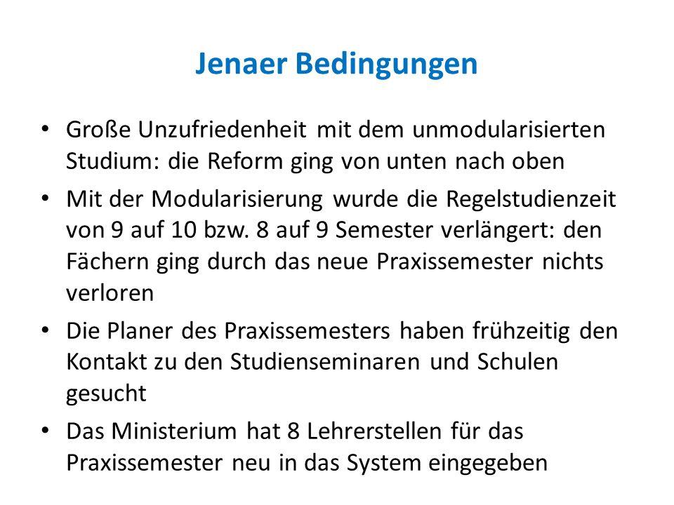 Das Jenaer Modell Der Lehrerbildung - Ppt Herunterladen