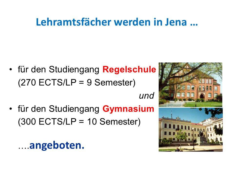 Folgende Fächer können in Jena studiert werden BiologieGeschichtePhysik ChemieGriechischRussisch DeutschInformatikSozialkunde EnglischKath.