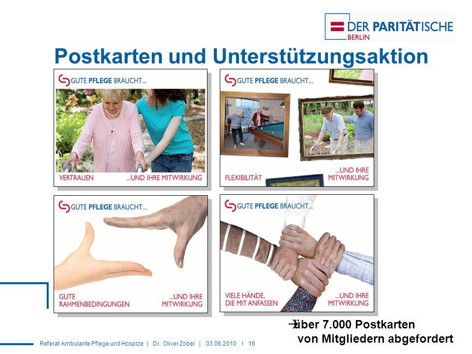 Referat Ambulante Pflege und Hospize | Dr.