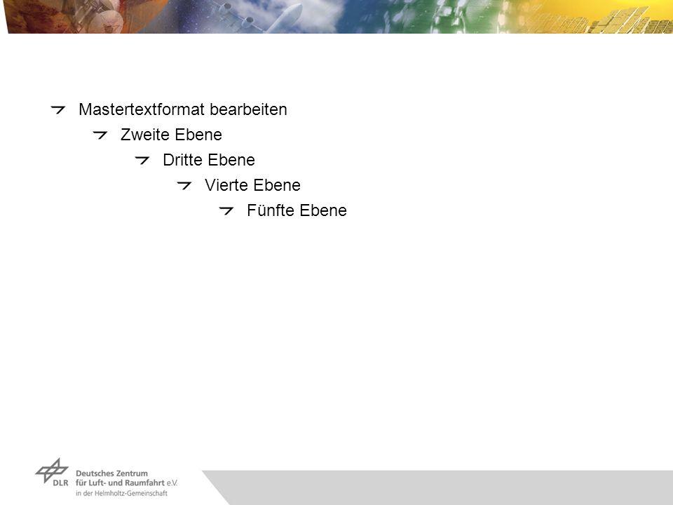 Mastertextformat bearbeiten Zweite Ebene Dritte Ebene Vierte Ebene Fünfte Ebene