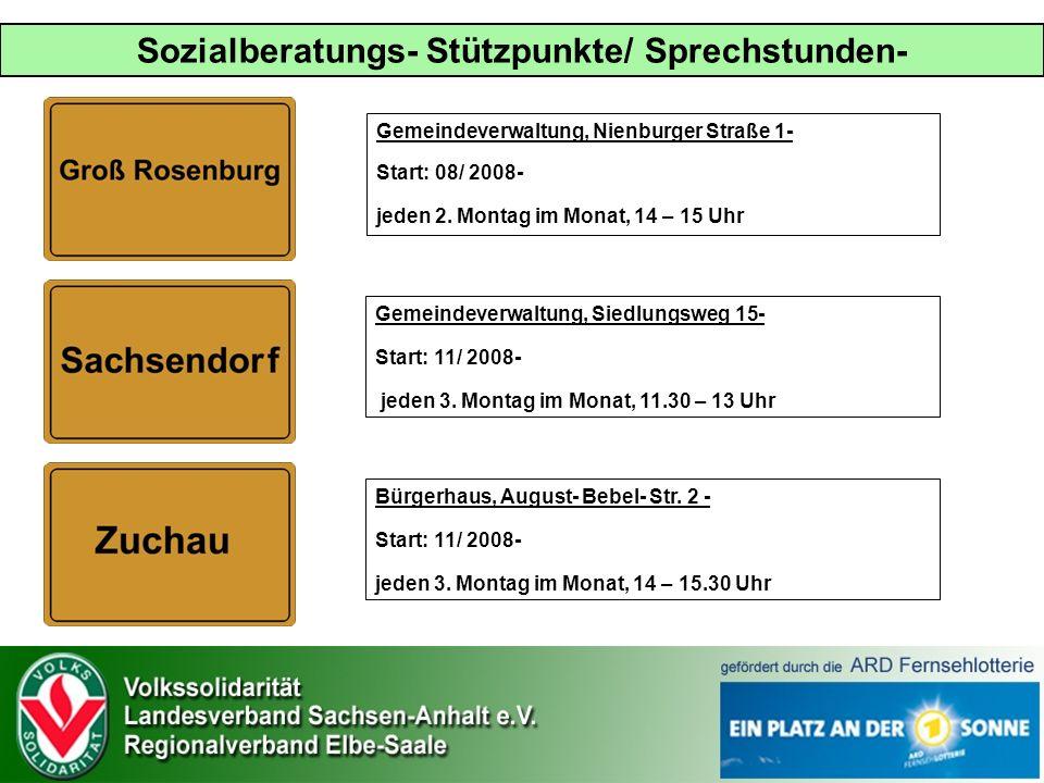 Gemeindeverwaltung, Nienburger Straße 1- Start: 08/ 2008- jeden 2.