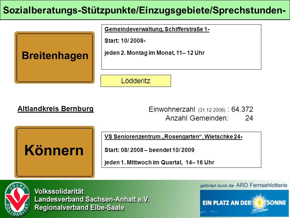 Gemeindeverwaltung, Schifferstraße 1- Start: 10/ 2008- jeden 2.