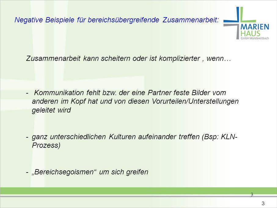 4 FAZIT Die Uni Jena hat es einfacher als die Marienhaus GmbH, da die Uni nur an einem Standort vertreten ist.