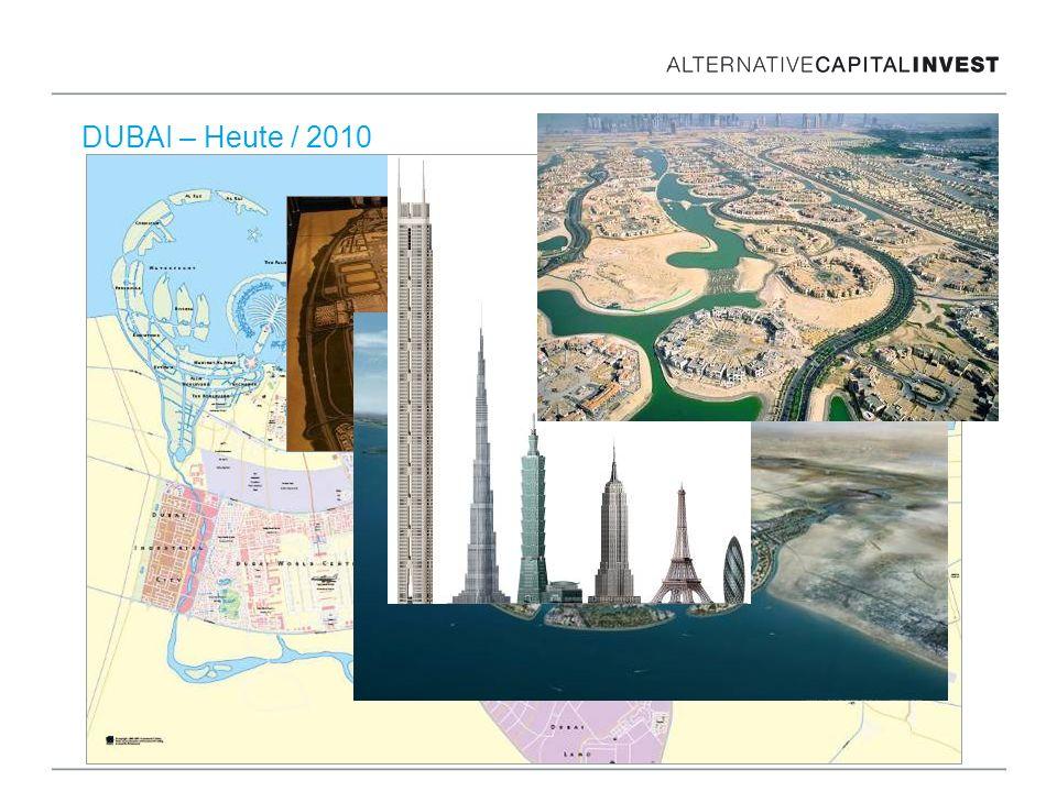 DUBAI – Heute / 2010