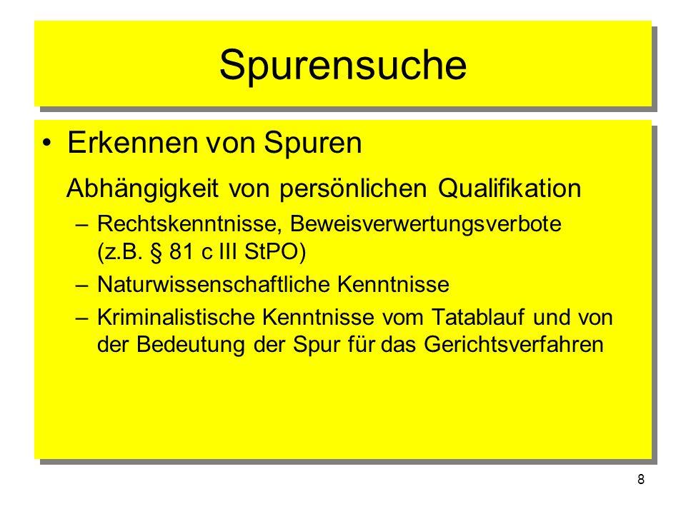39 Polizeifremde Gutachter Gerichtsmedizin z.B.Rechtsmediziner Gerichtsmedizin z.B.