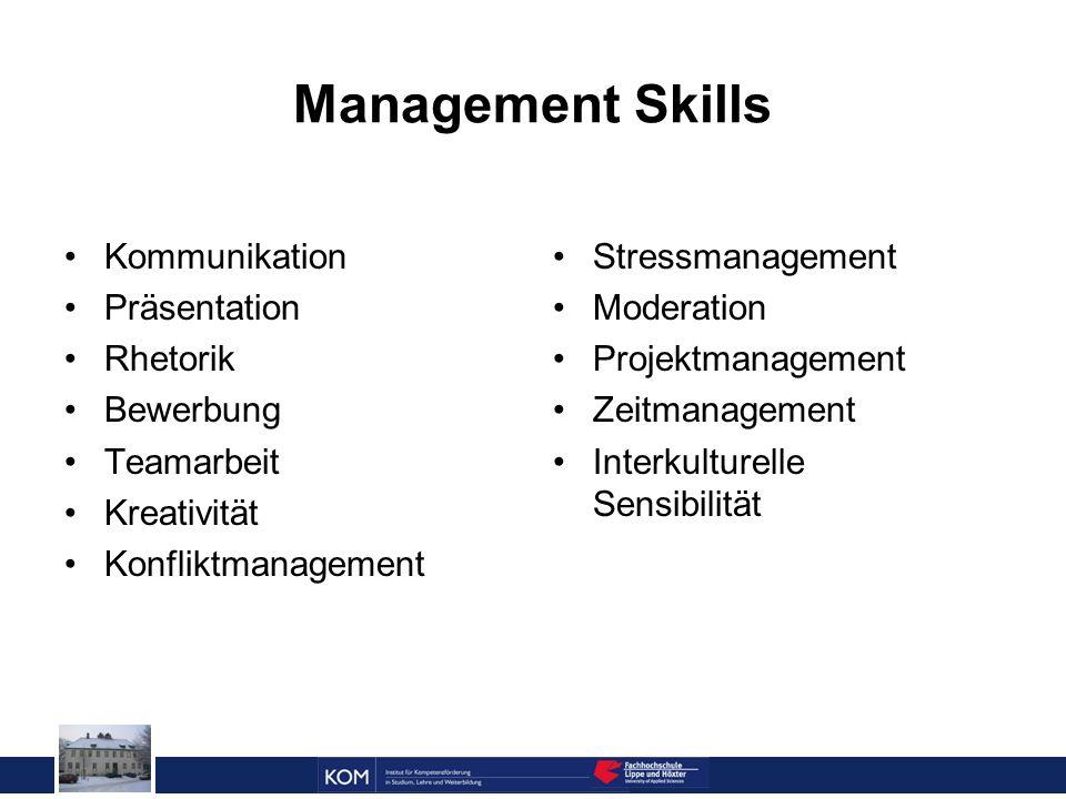 Prof. Dr. Reinhard Doleschal Management Skills Kommunikation Präsentation Rhetorik Bewerbung Teamarbeit Kreativität Konfliktmanagement Stressmanagemen