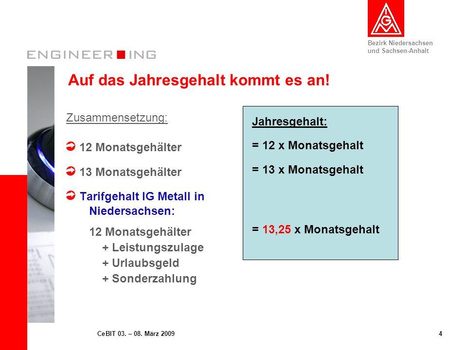 Bezirk Niedersachsen und Sachsen-Anhalt 5CeBIT 03.