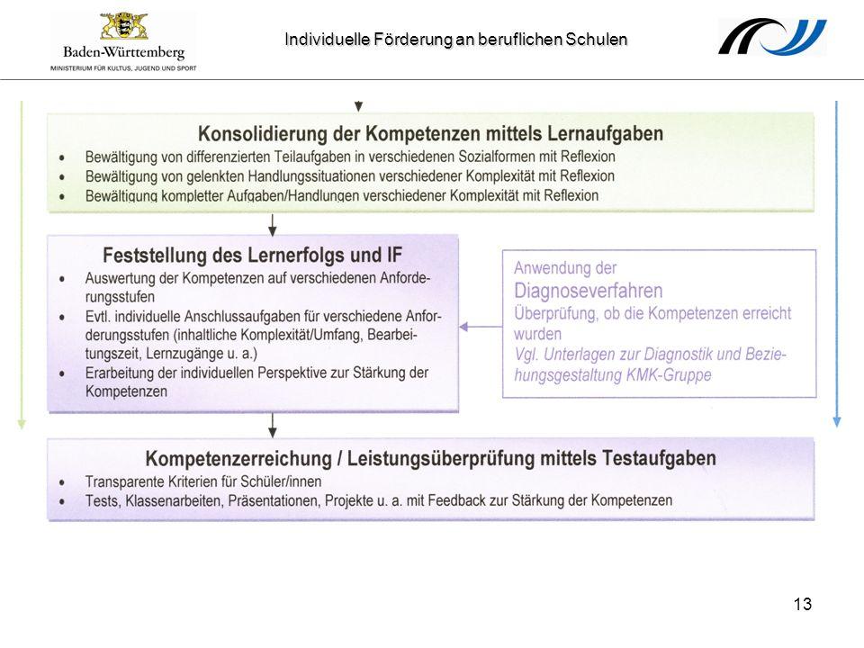 Individuelle Förderung an beruflichen Schulen 13