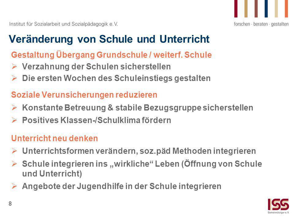 9 Praxisbspiel: bsj - Vernetzung von Jugenhilfe & Schule Träger: bsj: Verein zur Förderung bewegungs- und sportorientierter Jugendsozialarbeit e.V.