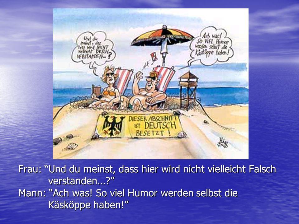 Ergebnisse Umfrage 2002 Fast die Hälfte (48,8 %) steht Deutschland neutral gegenüber.