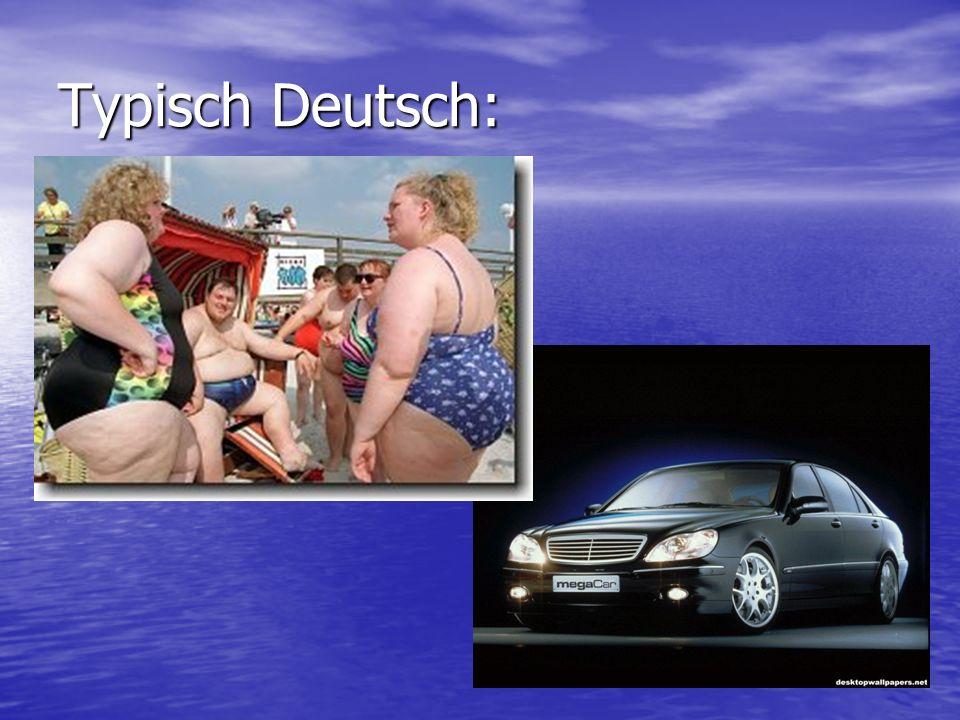 Diese Karikatur umschreibt ebenfalls das Bild, das viele Niederländer über deutsche Frauen haben.