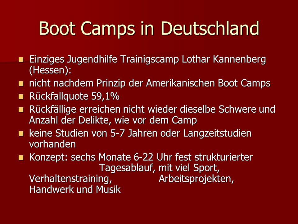 Boot Camps in Deutschland Einziges Jugendhilfe Trainigscamp Lothar Kannenberg (Hessen): Einziges Jugendhilfe Trainigscamp Lothar Kannenberg (Hessen):
