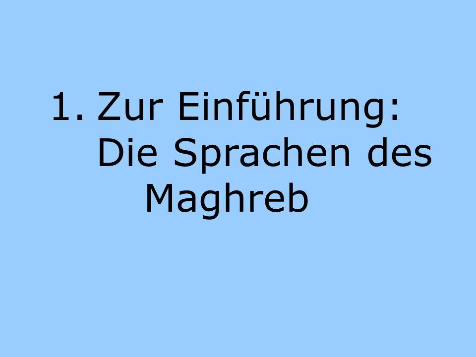 Der Begriff Maghreb al maghrib