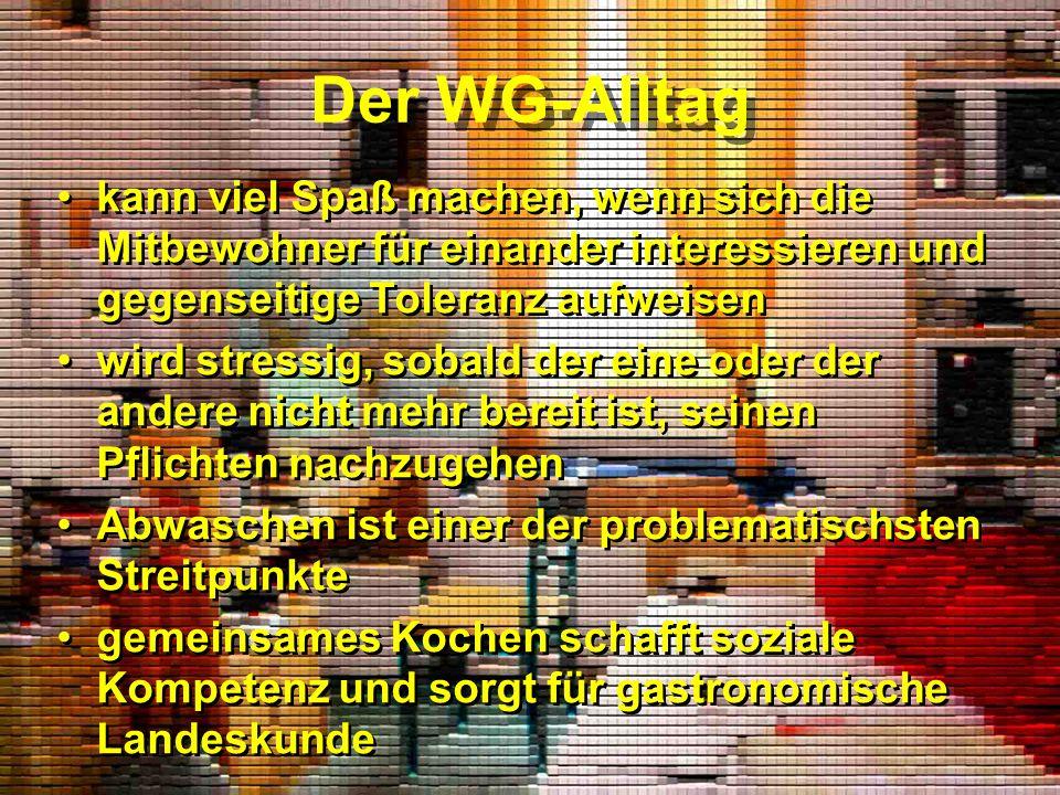 Gergely: ich wohne in einer Privat-WG mit zwei Deutschen.