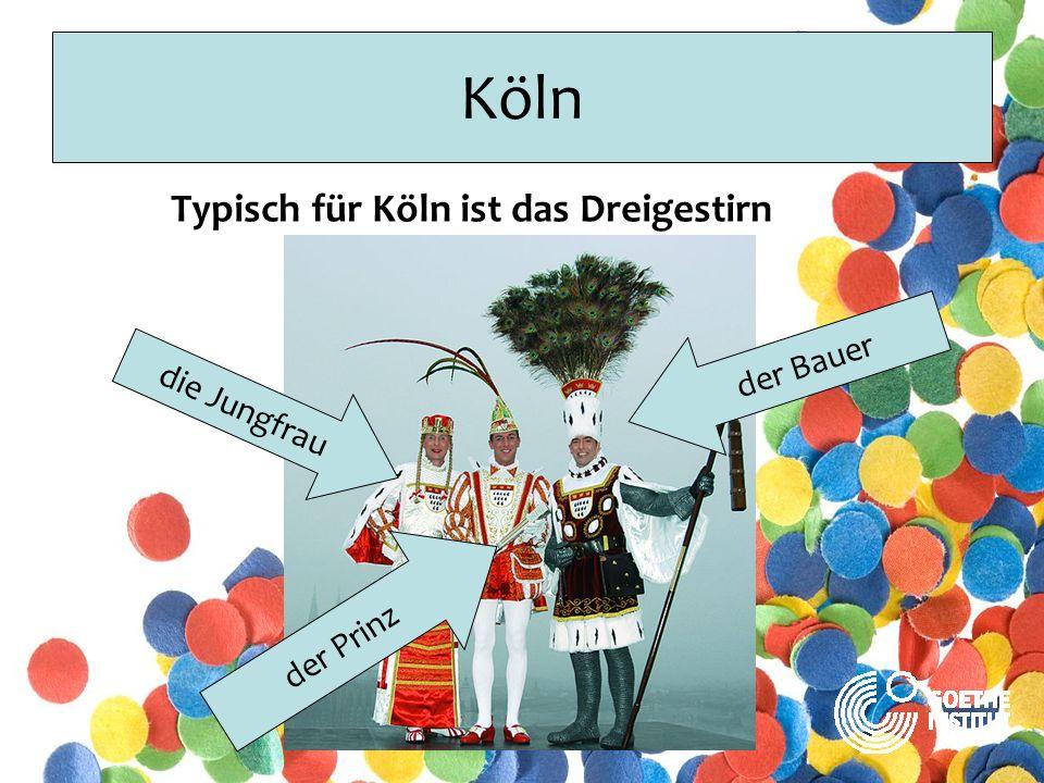 Köln Typisch für Köln ist der Nubbel Der Nubbel ist eine Puppe aus Stroh.