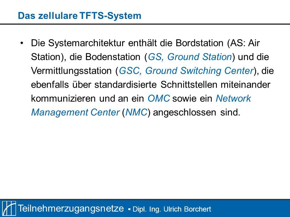 Teilnehmerzugangsnetze Dipl.Ing. Ulrich Borchert Die T-Kanäle sind wie der R-Kanal unidirektional.