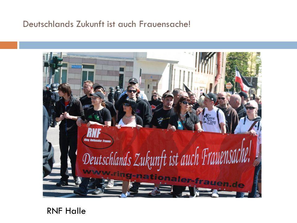 Deutschlands Zukunft ist auch Frauensache! RNF Halle