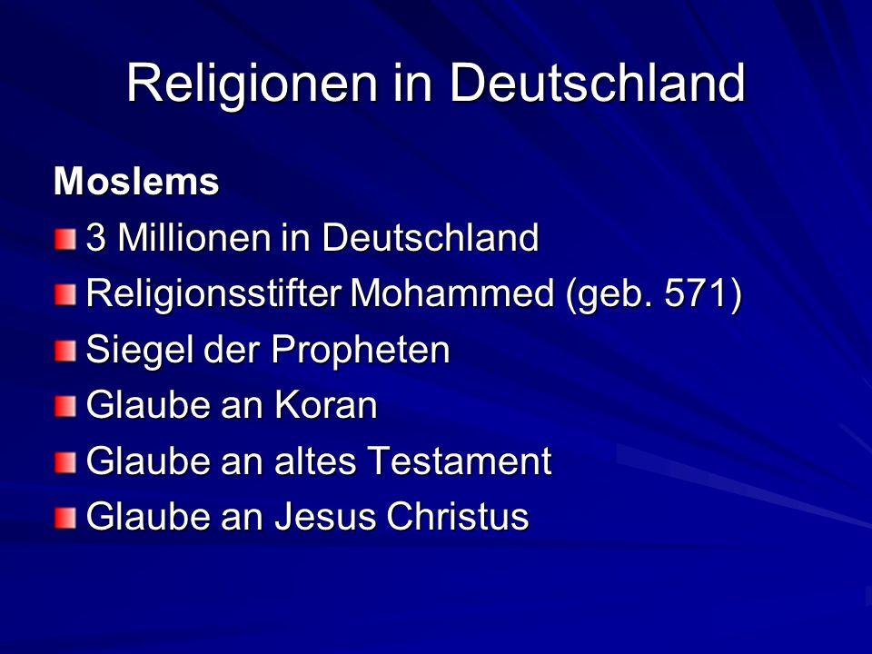 Religionen in Deutschland Orthodoxe Ca.