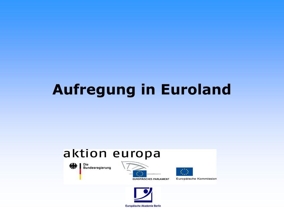 Euronuss Was ist los in Euroland?