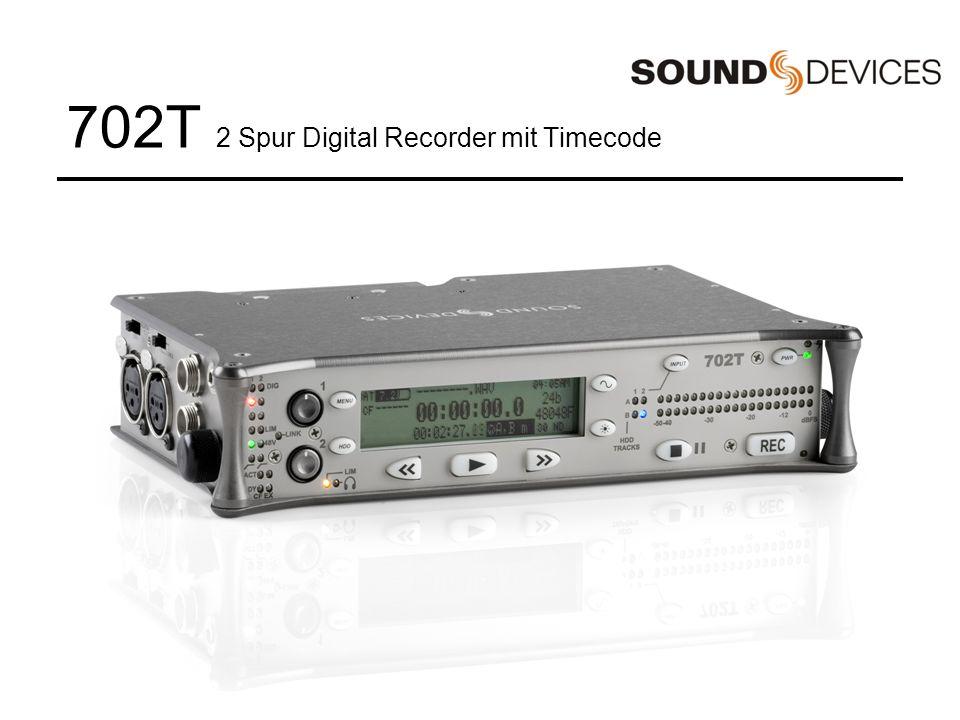 702T 2 Spur Digital Recorder mit Timecode