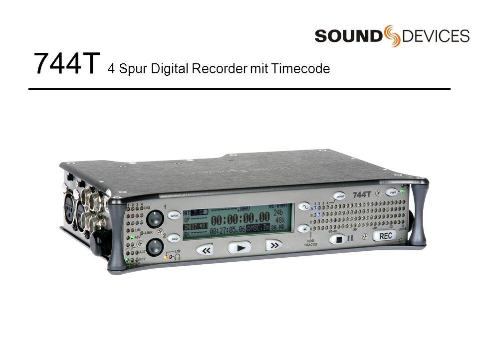 744T 4 Spur Digital Recorder mit Timecode