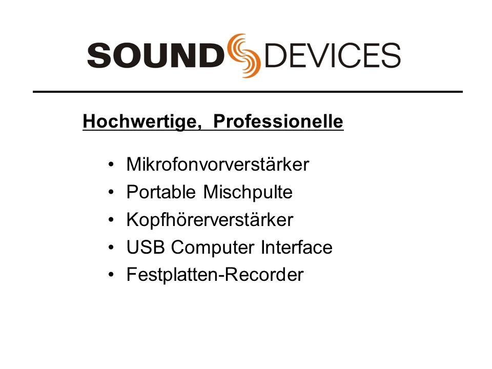 Menü Beschreibung Menü-Punkt 10 = Parameter - 10 Aussteuerungsanzeige Quelle ST & PFL (-30), Folgt der Position des Kopfhörer-Wahlschalters (-26), nur Stereo (-24)