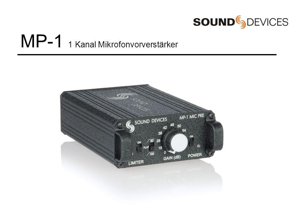 MM-1 1 Kanal Mikrofonvorverstärker