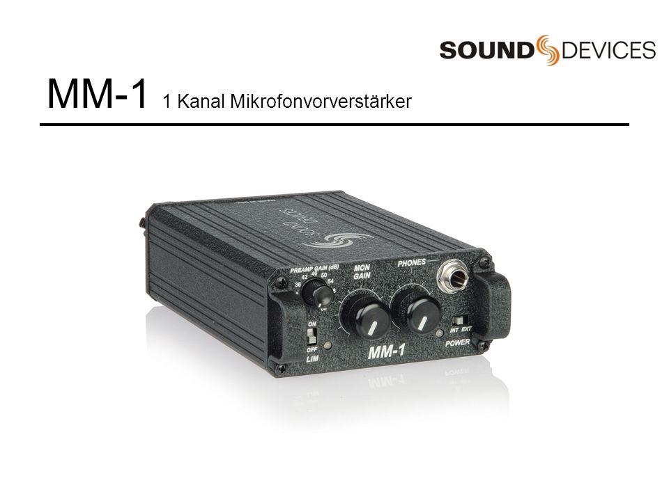 MixPre 2 Kanal Mikrofonvorverstärker