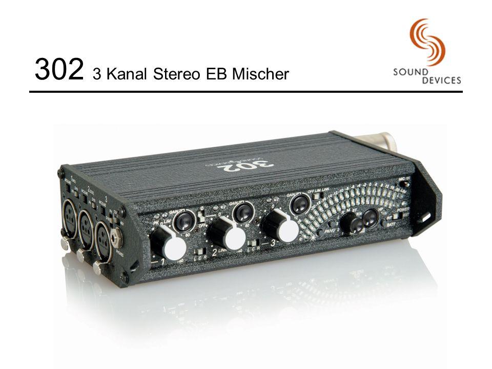 302 3 Kanal Stereo EB Mischer