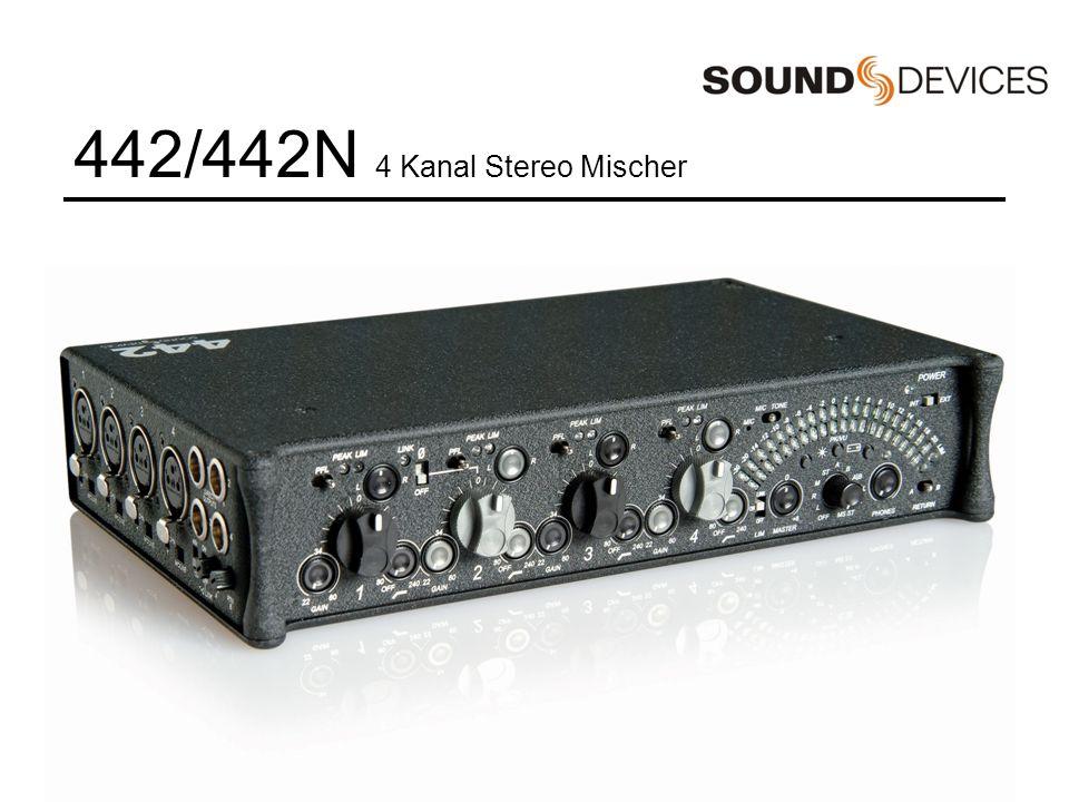 Einführung in die Bedienung Sound Devices 302 Stereo EB Mischers eines