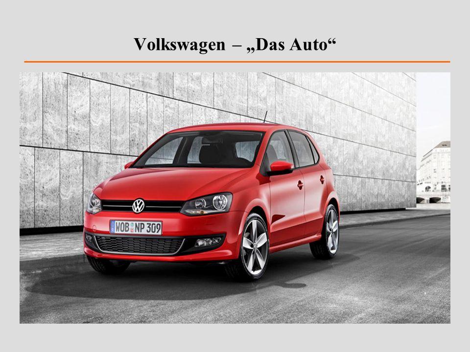 Volkswagen – Das Auto