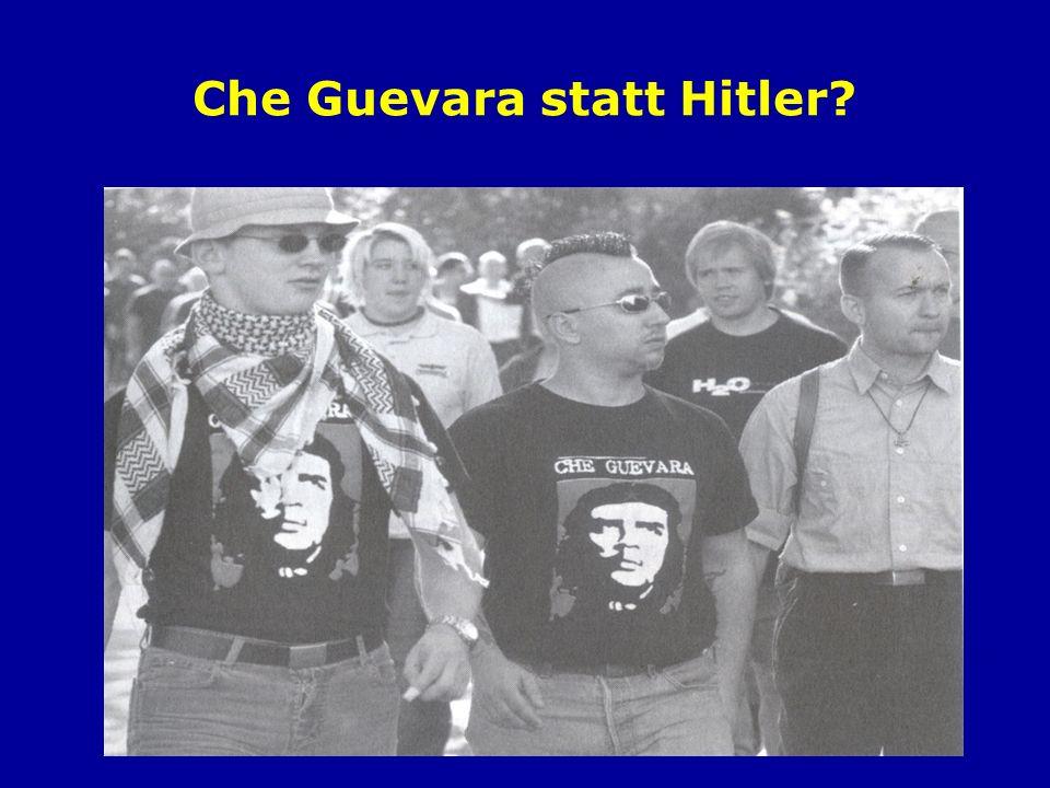 Che Guevara statt Hitler?
