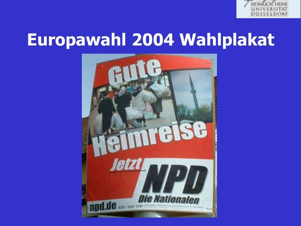 NPD-Verbotsverfahren 2001 von der Bundesregierung beantragt Annahme des Verbotsantrages durch das Bundesverfassungsgericht Einstellung des Verfahrens 2003