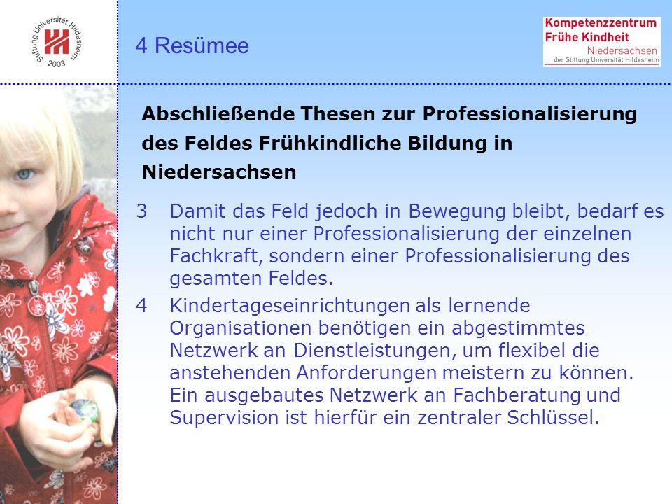 3Damit das Feld jedoch in Bewegung bleibt, bedarf es nicht nur einer Professionalisierung der einzelnen Fachkraft, sondern einer Professionalisierung