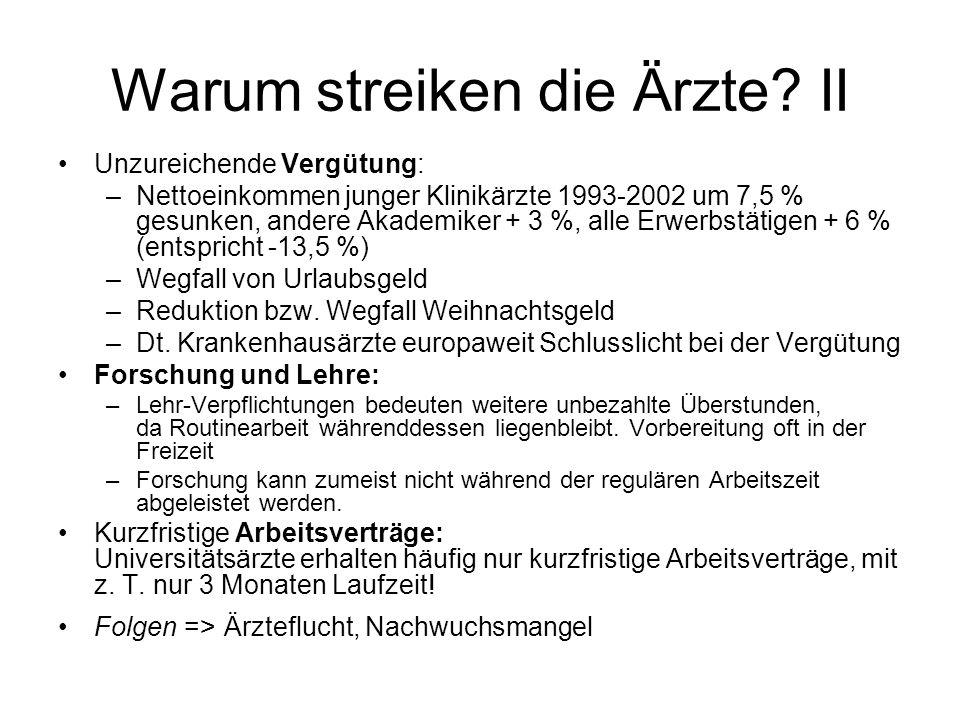 Aktuelle Situation 06.05.06: Tarifverhandlungen zw.