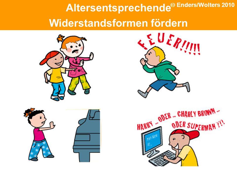 Schutz Altersentsprechende Widerstandsformen fördern Enders/Wolters 2010