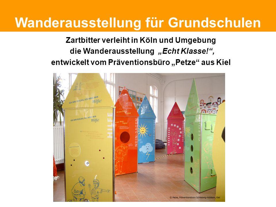 Politische Grundhaltung Wanderausstellung für Grundschulen Zartbitter verleiht in Köln und Umgebung die Wanderausstellung Echt Klasse!, entwickelt vom