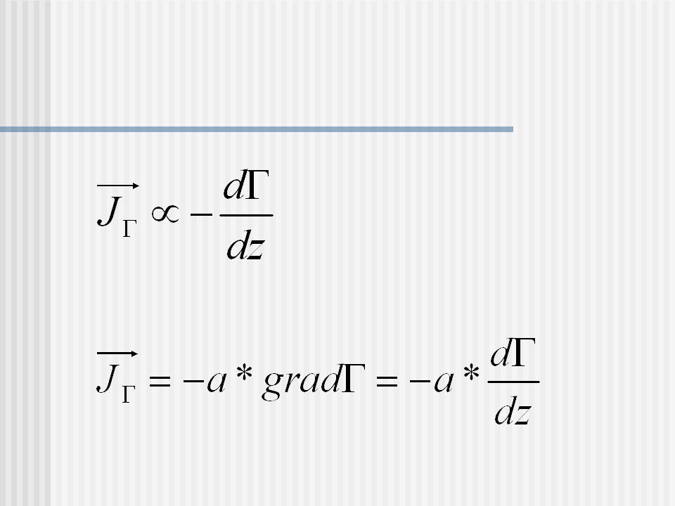 Wärmeleitung -Transportgleichung Mit: ergibt sich für den Wärmeleitungs- koeffizienten κ (Kappa) :