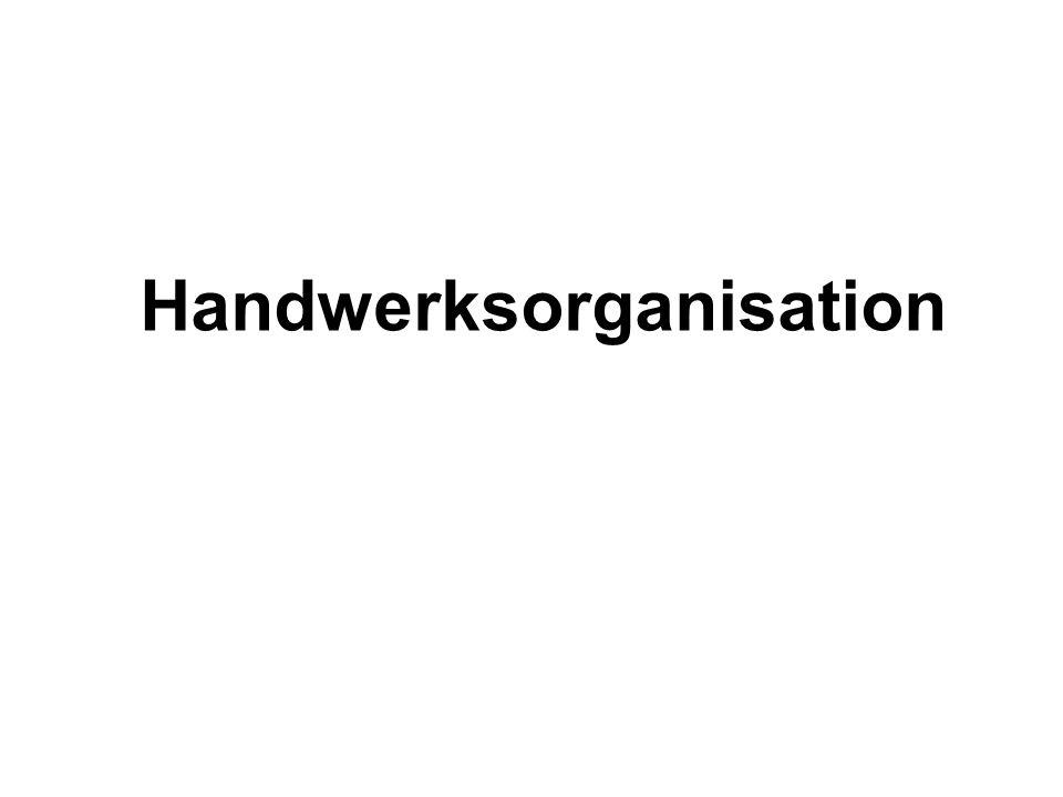 Handwerksorganisation
