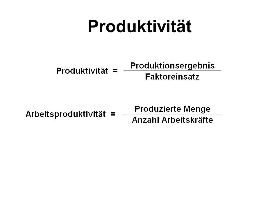 Wirtschaftswissenschaften Volkswirtschaftslehre –befasst sich mit den gesamtwirtschaftlichen Zusammenhängen Beispiele: – Preisentwicklung – Beschäftigung –Wirtschaftswachstum –Außenwirtschaft (§ 1 StabG) Betriebswirtschaftslehre –befasst sich mit der betrieblichen Leistungserstellung Beispiele: –Rentabilität –Produktivität –Wirtschaftlichkeit