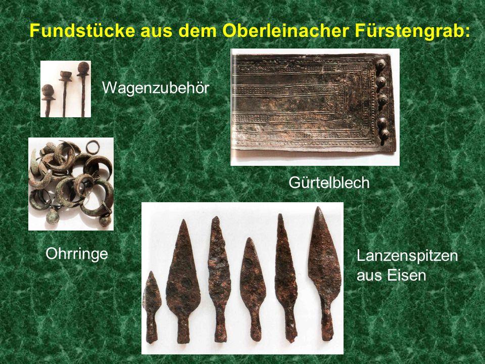 Der Schmied Sebastian Öhrlein fand im Jahr 1897 auf seinem Feld am Steinernen Weg ein keltisches Fürstengrab.