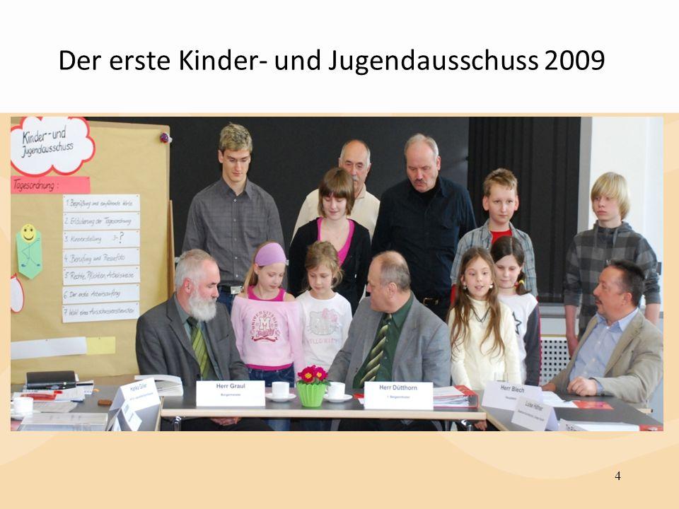 Der erste Kinder- und Jugendausschuss 2009 4
