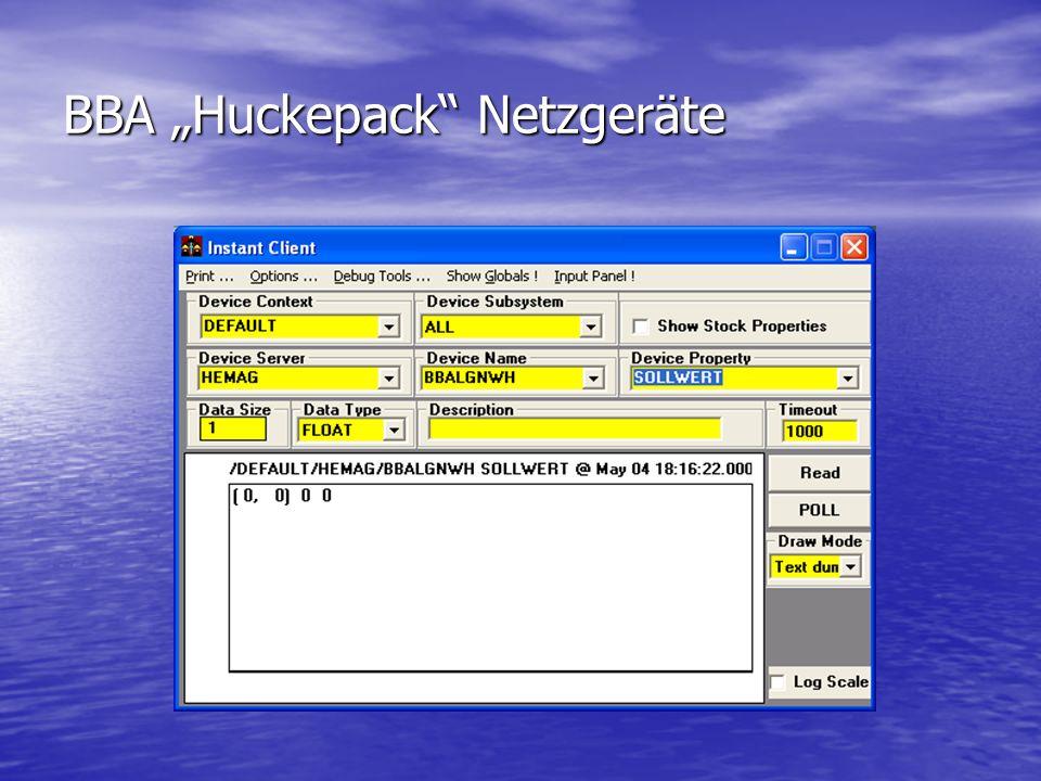 BBA Huckepack Netzgeräte