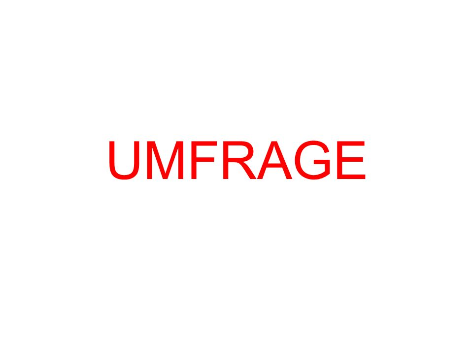 UMFRAGE