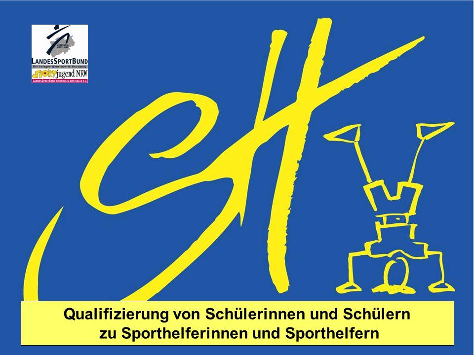 Sportjugend NRW Lehmann FV Februar 2006 Sporthelfer 1 Qualifizierung von Schülerinnen und Schülern zu Sporthelferinnen und Sporthelfern