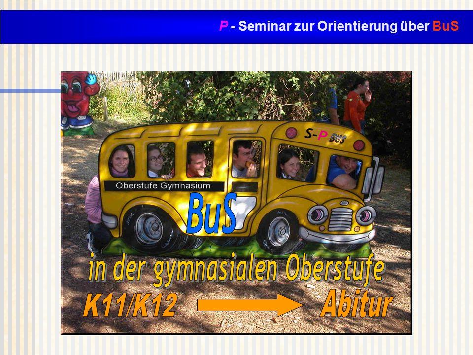 P - Seminar zur Orientierung über BuS