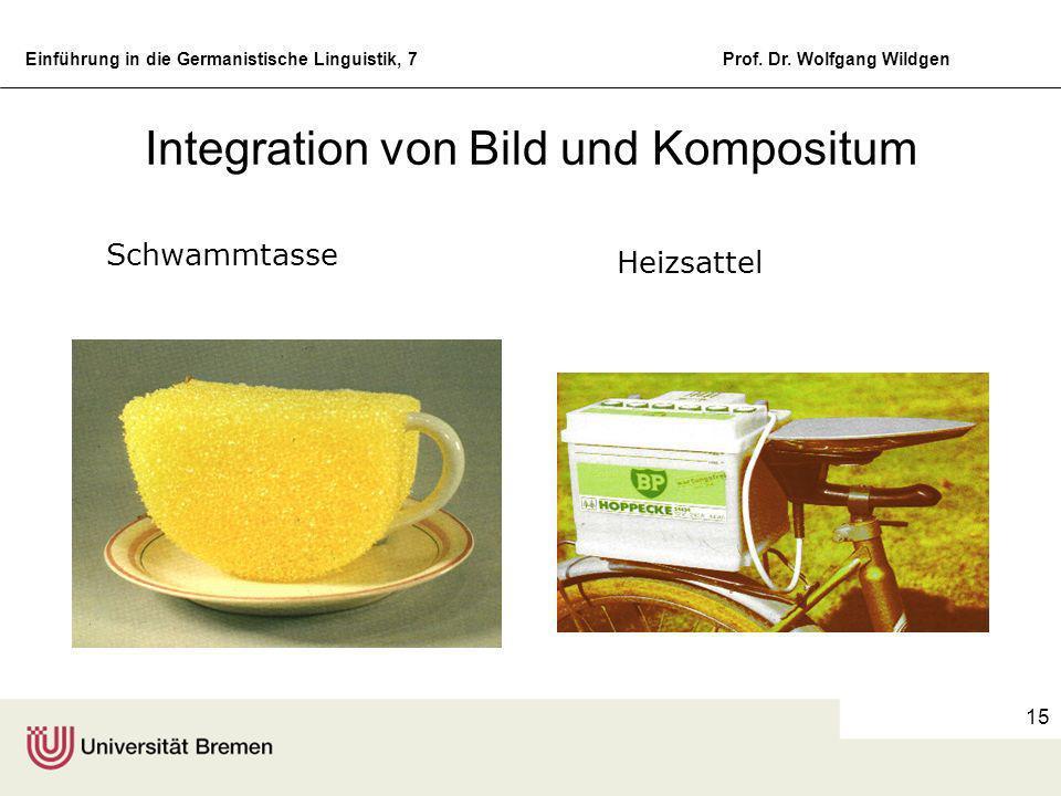 Einführung in die Germanistische Linguistik, 7Prof. Dr. Wolfgang Wildgen 14 C: Reihenbildung Friedens - Apostel Video - Zeitalter